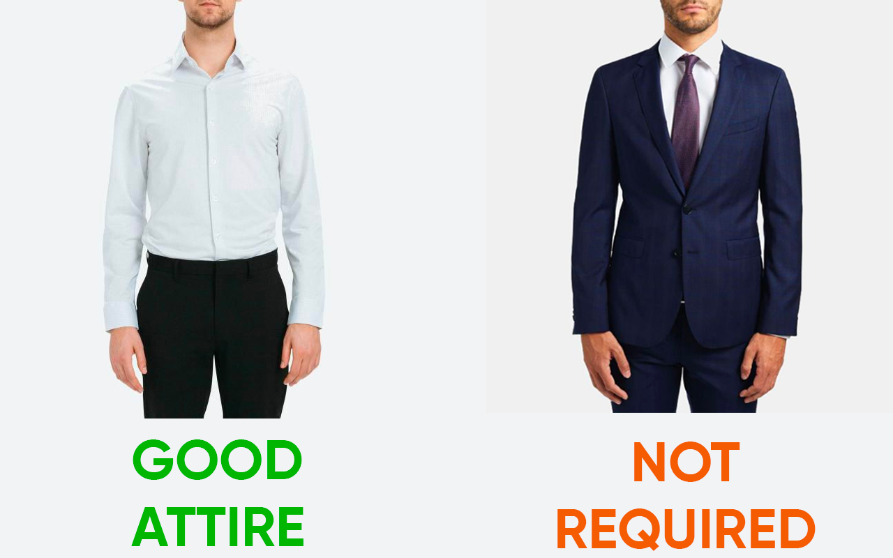 Visa Interview Dress